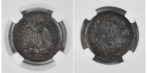 1 Centavo 墨西哥 銅
