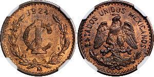 1 Centavo United Mexican States (1867 - ) Bronze