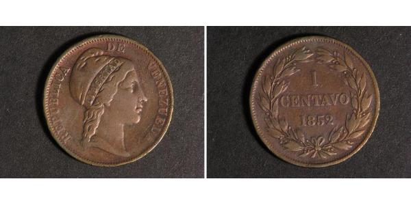 1 Centavo Venezuela Copper