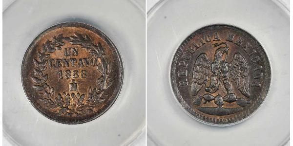 1 Centavo Mexique (1867 - ) Cuivre