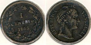 1 Centavo Venezuela Cuivre