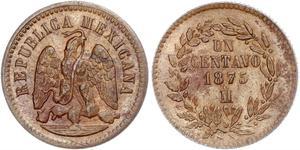 1 Centavo Mexiko (1867 - ) Kupfer