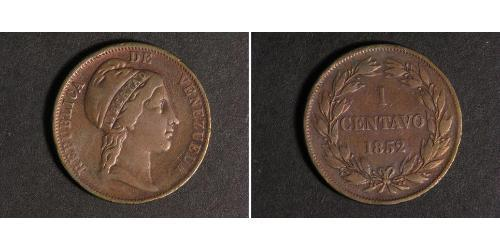 1 Centavo Venezuela Kupfer
