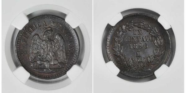 1 Centavo Messico (1867 - ) Rame