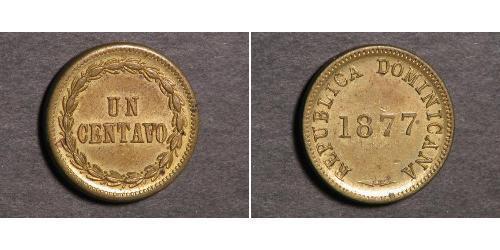 1 Centavo Dominikanische Republik