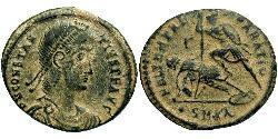 1 Centenionalis 羅馬帝國 青铜 君士坦提烏斯二世