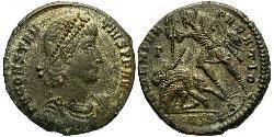1 Centenionalis Imperio romano (27BC-395) Bronce Constancio II (317 - 361)