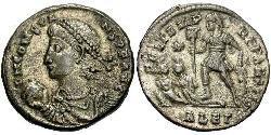 1 Centenionalis Imperio romano (27BC-395) Bronce Constante I (320-350)