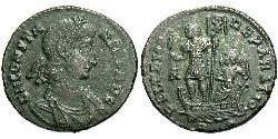 1 Centenionalis Römische Kaiserzeit (27BC-395) Bronze Constans I (320-350)