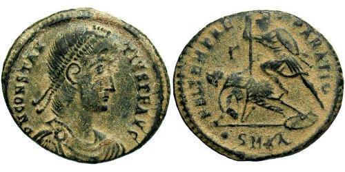 1 Centenionalis Römische Kaiserzeit (27BC-395) Bronze Constantius II(317 - 361)