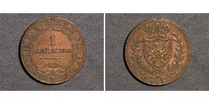 1 Centesimo Italy Copper