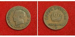 1 Centesimo Kingdom of Italy (Napoleonic) (1805–1814) Copper Napoleon (1769 - 1821)