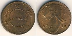 1 Centesimo Somalia Copper