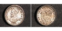 1 Centesimo Panama Silber