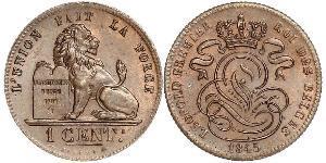 1 Centime Belgio