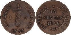 1 Centime Haiti