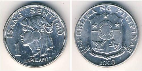 1 Centimo Philippinen Aluminium