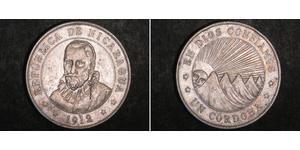 1 Cordoba Nicaragua Silber