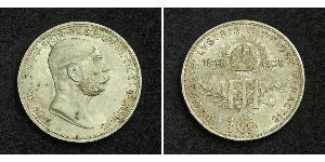 1 Corona Impero austro-ungarico (1867-1918) Argento Franz Joseph I (1830 - 1916)