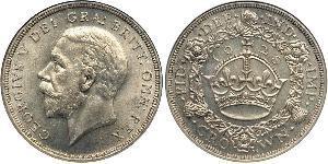 1 Corona Regno Unito (1922-) Argento Giorgio V (1865-1936)