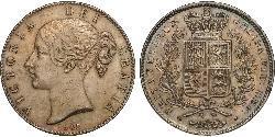 1 Corona Regno Unito di Gran Bretagna e Irlanda (1801-1922) Argento Vittoria (1819 - 1901)