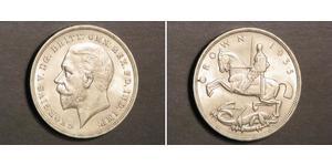 1 Corona Regno Unito di Gran Bretagna e Irlanda (1801-1922) Argento Giorgio V (1865-1936)