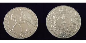 1 Corona Regno Unito (1922-) Rame/Nichel Elisabetta II (1926-)