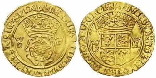 1 Crown 英格兰王国 金 亨利八世 (1491 - 1547)