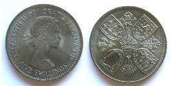 1 Crown United Kingdom (1922-) Copper/Nickel Elizabeth II (1926-)