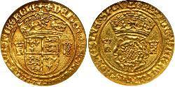 1 Crown Kingdom of England (927-1649,1660-1707) Gold Henry VIII (1491 - 1547)
