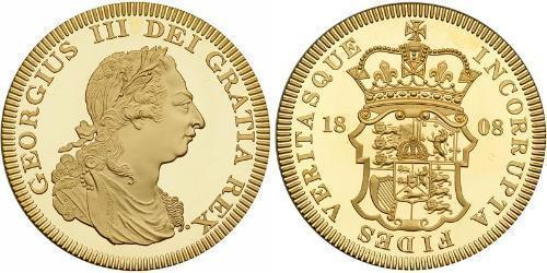 1 Crown Vereinigtes Königreich Gold Georg III (1738-1820)