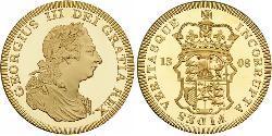 1 Crown Reino Unido Oro Jorge III (1738-1820)
