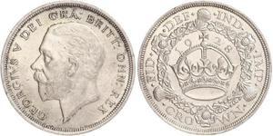 1 Crown Reino Unido (1922-) Plata Jorge V (1865-1936)