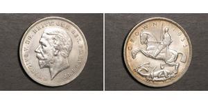 1 Crown Reino Unido de Gran Bretaña e Irlanda (1801-1922) Plata Jorge V (1865-1936)