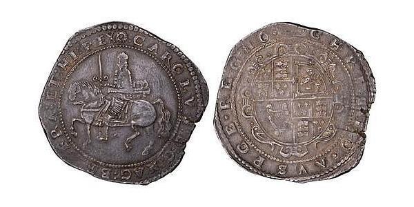 1 Crown Reino de Inglaterra (927-1649,1660-1707) Plata Carlos I (1600-1649)