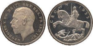 1 Crown Vereinigtes Königreich von Großbritannien und Irland (1801-1922) Silber George V (1865-1936)