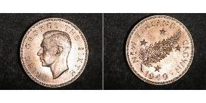 1 Crown New Zealand Silver George VI (1895-1952)