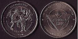 1 Dólar Canadá Níquel