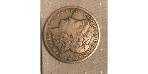 1 Dólar Estados Unidos de América (1776 - ) Plata