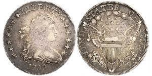 1 Dólar Estados Unidos de América (1776 - ) Plata Anne Willing Bingham (1764-1801)