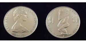 1 Dólar Islas Cook
