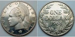 1 Dólar Liberia