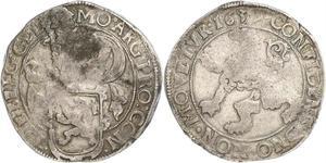 1 Daalder Королевство Голландия (1806 - 1810) / Королевство Нидерланды (1815 - ) Серебро