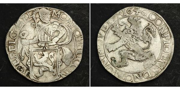 1 Daalder Республика Соединённых провинций (1581 - 1795) Серебро
