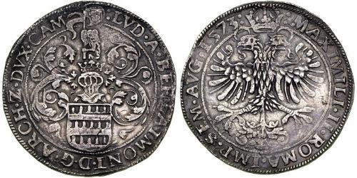 1 Daalder Королівство Нідерланди (1815 - ) Срібло Максиміліан II Габсбург(1527- 1576)