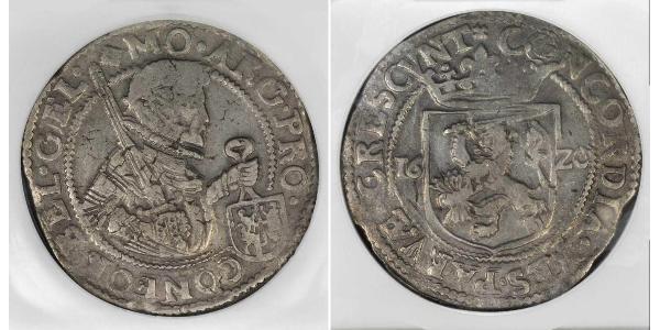 1 Daalder 荷蘭共和國 (1581 - 1795) 銀