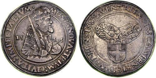 1 Daalder Regno dei Paesi Bassi (1815 - ) Argento Carlo V del Sacro Romano Impero (1500-1558)