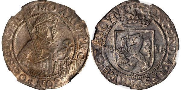 1 Daalder Repubblica delle Sette Province Unite (1581 - 1795) Argento