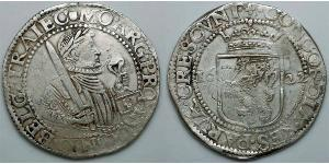 1 Daalder Provincias Unidas de los Países Bajos (1581 - 1795) Plata