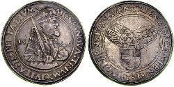 1 Daalder Kingdom of the Netherlands (1815 - ) Silver Charles V, Holy Roman Emperor (1500-1558)